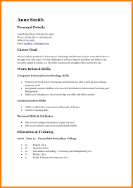 Teenage Resume Template Australia