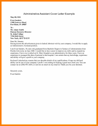 7 Cover Letter Examples For Admin Assistant Hostess Resume