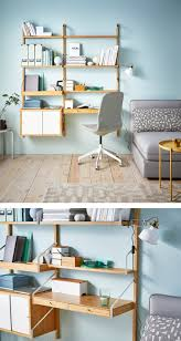 study room furniture ikea. A Living Room With A Sofa And Wall Of Modern Bamboo Shelves Including One  Shelf Study Furniture Ikea T