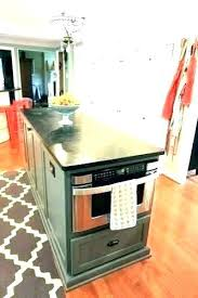 Microwave In Island Drawer  Kitchen Islands   L47