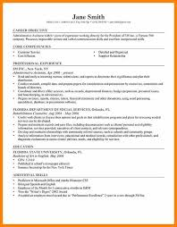 18 Examples Of Career Objective In Resume Vereador Jamerson