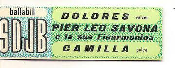 Sticker Juke Box - the danceable-Pier Leo Savona-Dolores Camilla   eBay