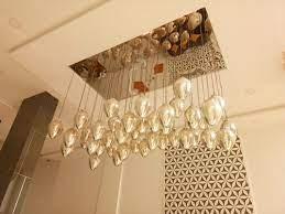 led handmade glass lighting pendant