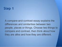 compare contrast essay compare contrast essay a review 2