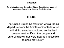 essays on article v of the constitution articles of confederation v the constitution essays