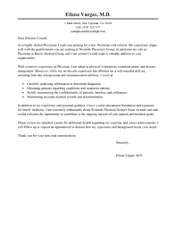 best doctor cover letter examples  livecareer