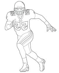 Cool Inspiration Football Players Coloring Pages The Best Player Nfl