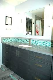 bathroom accent tile green glass mosaic contemporary around bathtub height bathroom accent tile o95