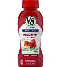 v8 v fusion strawberry banana