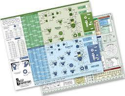 Engineering Slide Chart Screw Selector