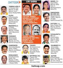 Mla List Chittoor District New Mlas And Mps 2014 Hello Ap And Telangana