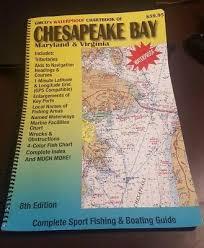 Chesapeake Bay Chart Book Gmco Chesapeake Bay Waterproof Chartbook 8th Edition