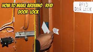 how to make rfid door lock using arduino hindi