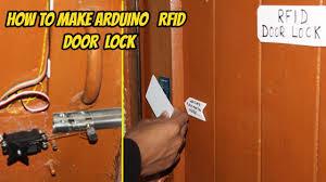 how to make rfid door lock using arduino hindi