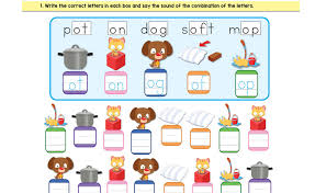 Teacher demonstrate how to sound the phonic activities 2. 80 Free Phonics Worksheets Download Bingobongo