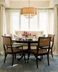 dining room set with settee. cane chairs, settee, round table dining room set with settee