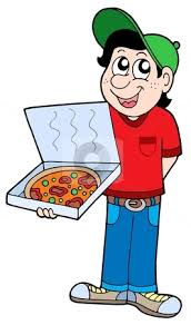 pizza delivery clipart. Contemporary Delivery Pizza Delivery Boy And Delivery Clipart V