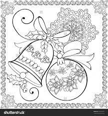 Hand Drawing Christmas Bell Christmas Ball