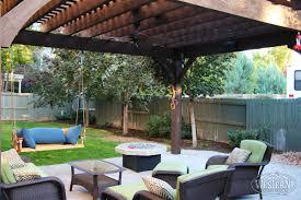 Fire Pit Swing 55 Best Backyard Retreats With Fire Pits Chimineas Fire Pots