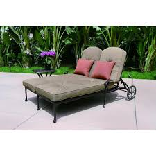double chaise chair. darlee elisabeth patio double chaise lounge set chair