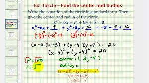 standard form of a circle calculator images example ideas