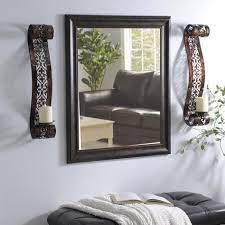 candle wall sconces wall decor living