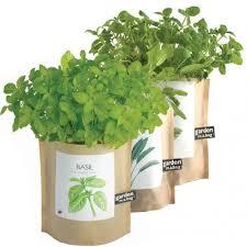 garden in a bag. Garden-in-a-Bag Organic Herb Collection Garden In A Bag