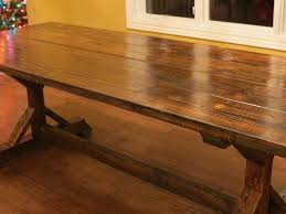 rustic dining table diy. Rustic Farmhouse Table From Let\u0027s Just Build A House! Blog Dining Diy