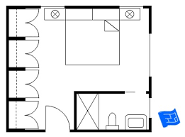 floor plan furniture symbols bedroom. Master Bedroom Floor Plan With Bathroom In Corner And A Wall Of Wardrobes Furniture Symbols G