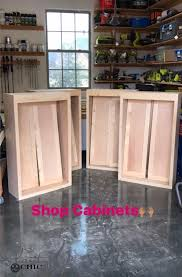 Image Custom Diy Cabinets For Garage Or Shop Shanty Chic Diy Cabinets For Garage Workshop Or Craft Room Shanty Chic