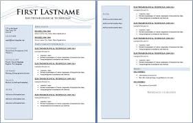 2 Page Resume Sample Awesome Two Pages Resume Samples Resume Templates Pages Page Resume With