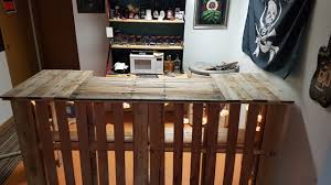 How To Build A Pallet Bar For FREE