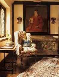 British Interior Design Simple A Corner View Of William R Eubanks's 48's Tudor Style Home In