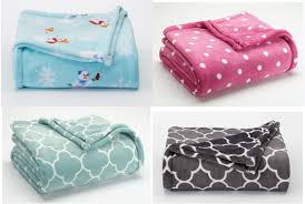 Kohls Throw Blankets Magnificent Kohl's The Big One Super Soft Plush Throw Blankets Just 3232 Each