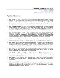 Agile Resume Mesmerizing Gervais Johnson Agile Coach Details Resume