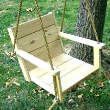 outdoor swinging chair wooden swing chair wood swings co rope build outdoor set on a