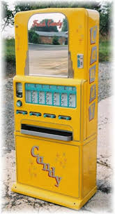 Stoner Vending Machine Cool Vintage Restored Stoner 48 Candy Machine With Gum Selector BITW