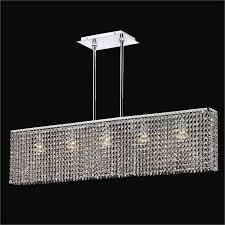 modern rectangular crystal chandelier urban essentials 595em5lsp 3c