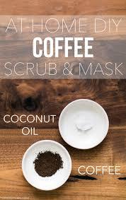at home diy coffee scrub mask thinkelysian com