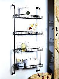 wire shelf wall mount wall mounted beautiful decorative modular wire shelving design for com metal wall