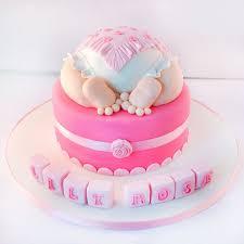 Baby Shower Cake For Girls Box Of Cake