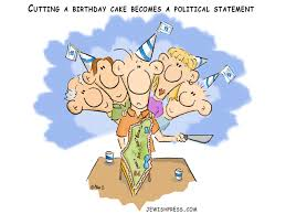 Cutting A Birthday Cake Becomes A Political Statement The Jewish