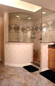 shower design awesome ideas for walk in showers without doors open designs remarkable simple