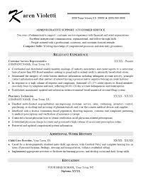 resume for customer service job relevant experience resume sample part time nanny job seeking