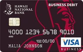 Hawaii Business Credit Debit Cards Hawaii National Bank