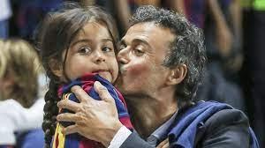 Luis Enrique figlia morta a soli 9 anni per un male incurabile