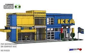 CD Modular Swedish Furniture Store Lego Custom Instructions cafe