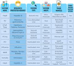 Vaccination Chart In Uae What Is The Recommended Immunization Schedule Usa