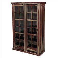 tall cabinet with glass doors storage cabinets with glass doors unique wood storage cabinets with glass