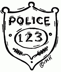 Small Picture Police Badge Drawing Free Coloring Pages On Masivy World inside